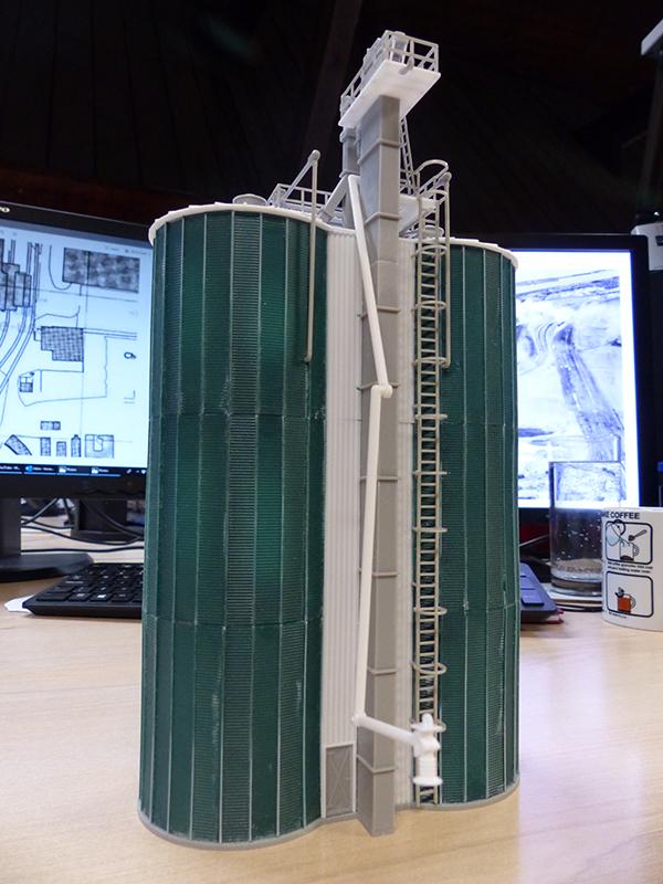 Faller 120260 twin silo kit