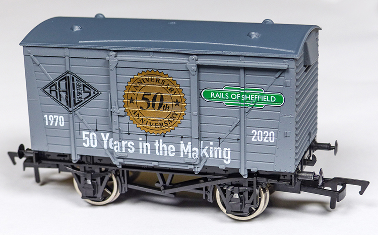 Rails of Sheffield 50 anniversary Dapol wagon exclusive