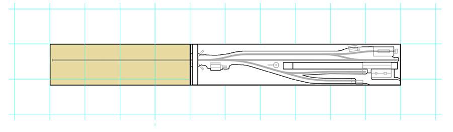 How to draw a model railway track plan add scenery