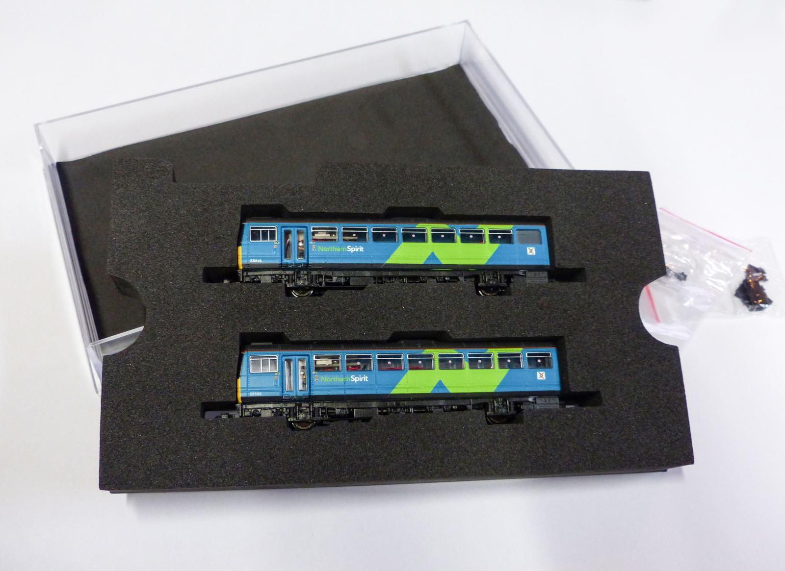 Dapol N gauge Pacer Northern Rail Livery