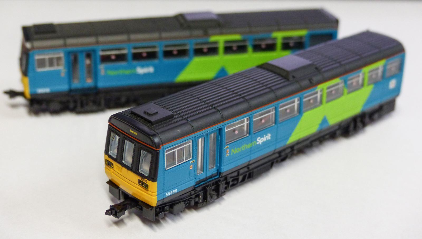 Dapol N gauge Class 142 pacer
