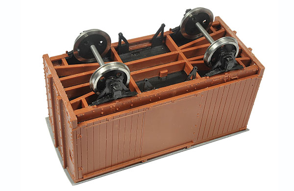 Build an O gauge wagon