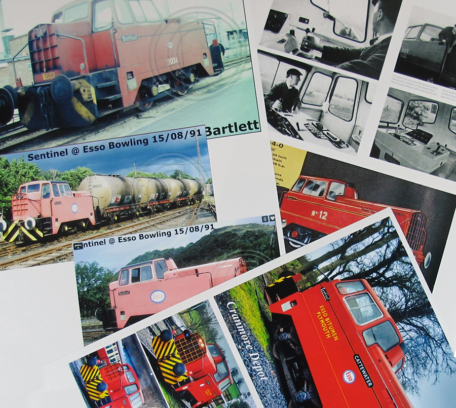 BRM Railway modelling Hornby Sentinel OO gauge research materials