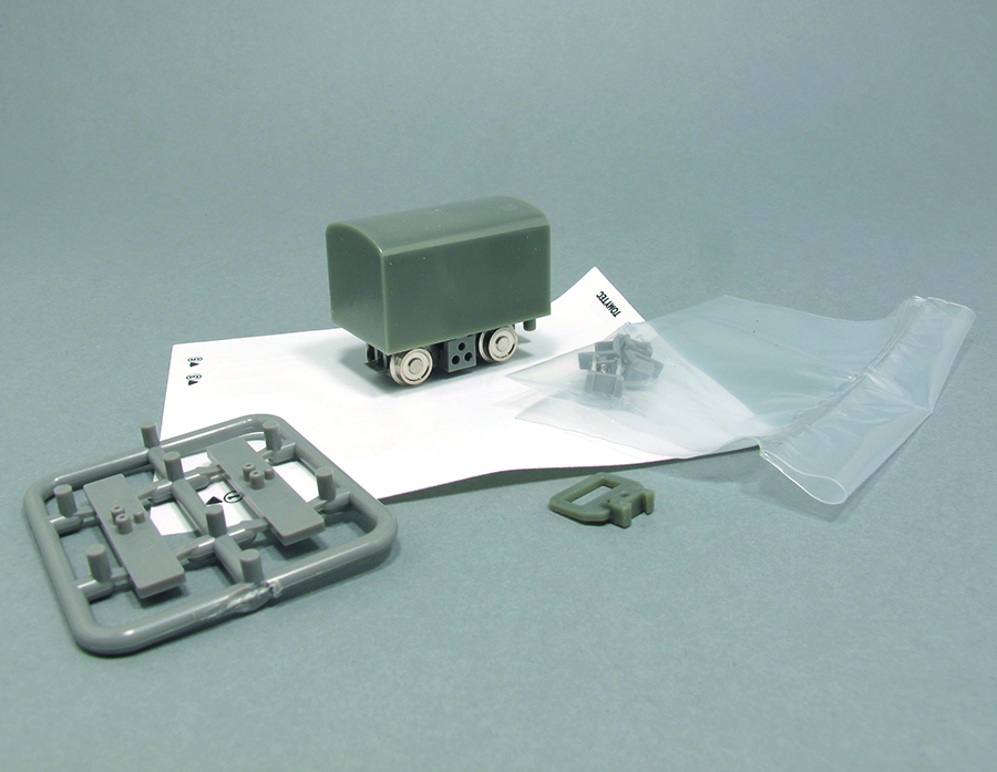 Modify a Tin Turtle railway modelling 009 kit parts