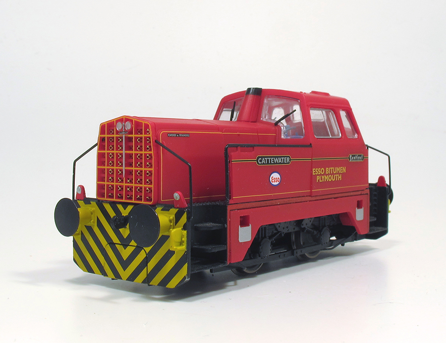 BRM Railway modelling Hornby Sentinel OO gauge out of the box