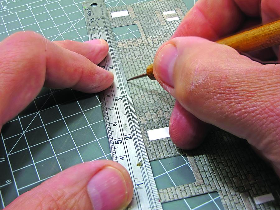 Metcalfe kit cottage intermediate build scribing