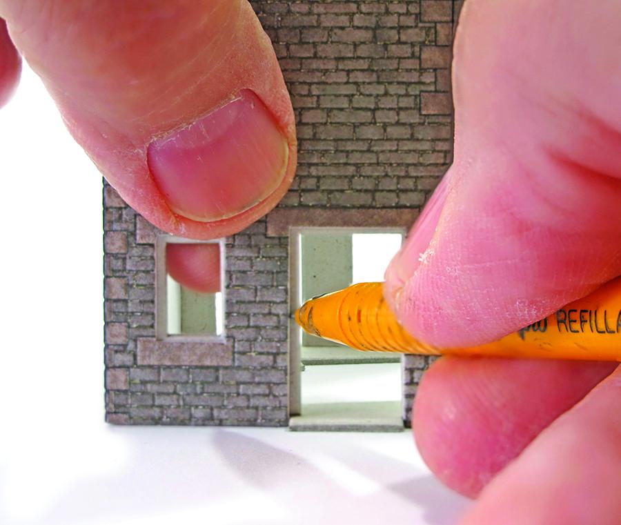 Metcalfe kit cottage intermediate build windows