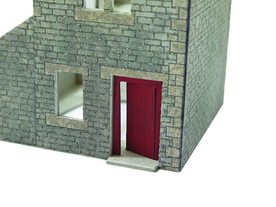 How to build Metcalfe kit cottage intermediate doors