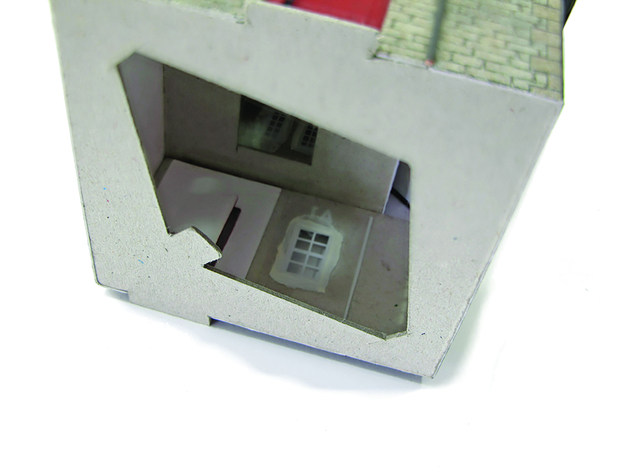 How to build a Metcalfe kit cottage intermediate internal details