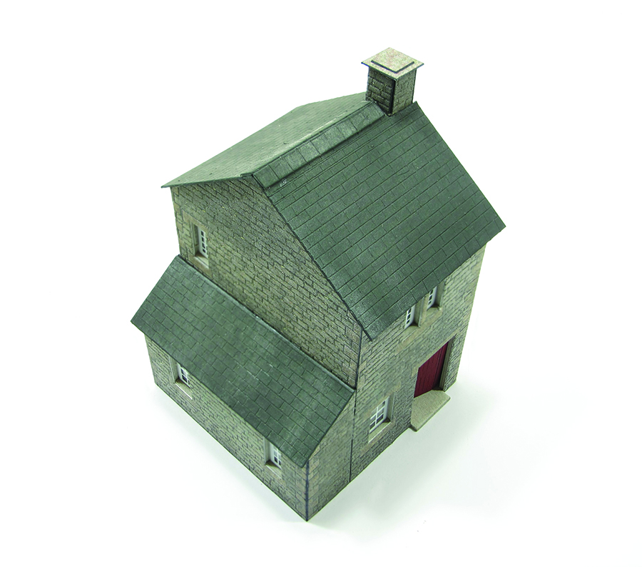 How to build a Metcalfe kit cottage intermediate roof