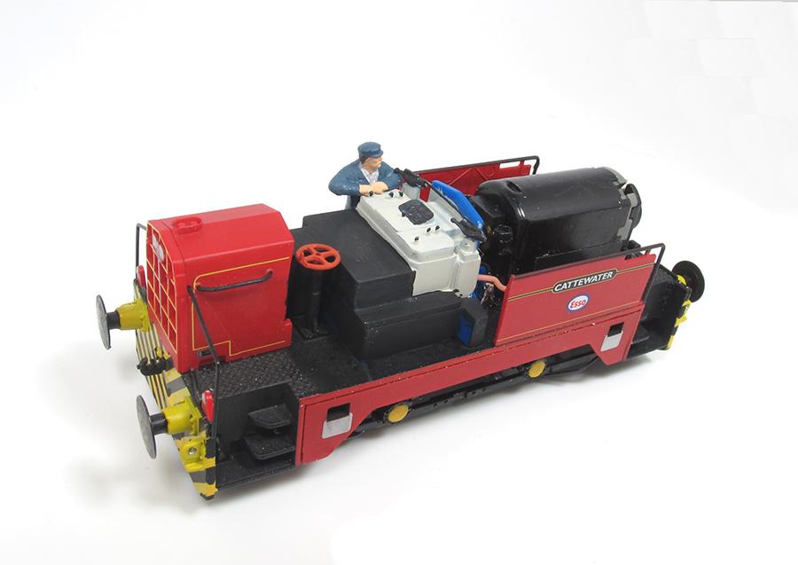 BRM Railway modelling Hornby Sentinel OO gauge interior details
