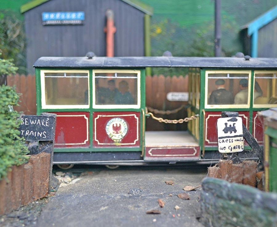 Garden Biscuit Tin Railways