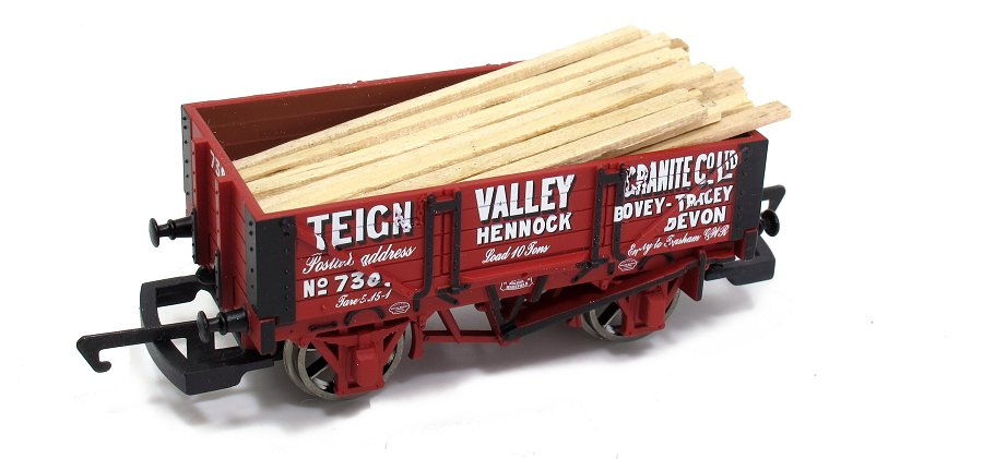 wooden plank load added to wagon