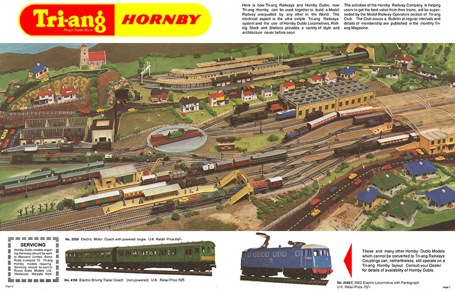 The Triang and Hornby amalgamation