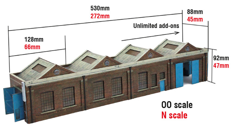 scalescenes shed kit