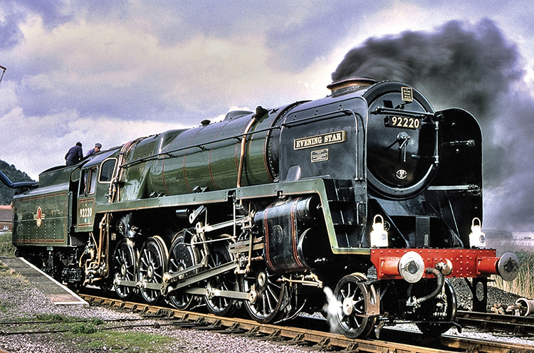 R3937 Hornby 9F Evening Star