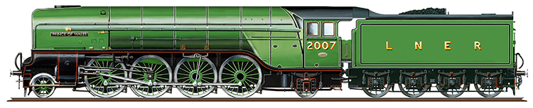 Prince of Wales No. 2007 Hornby R3983