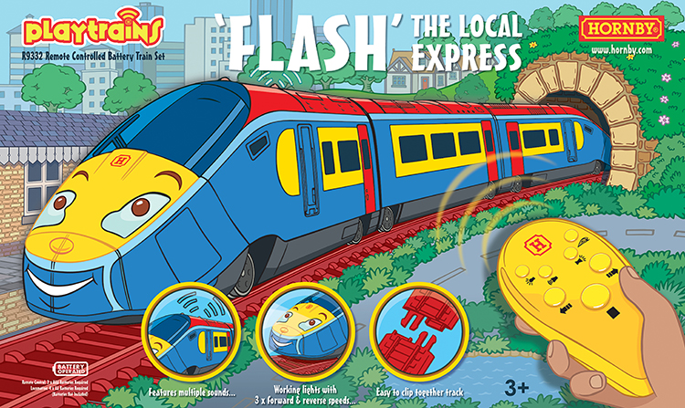 Hornby Playtrains Flash