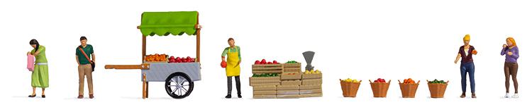 Noch 16226 Fruit Stall