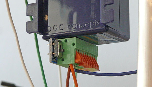 Fit and program a DCC point motor
