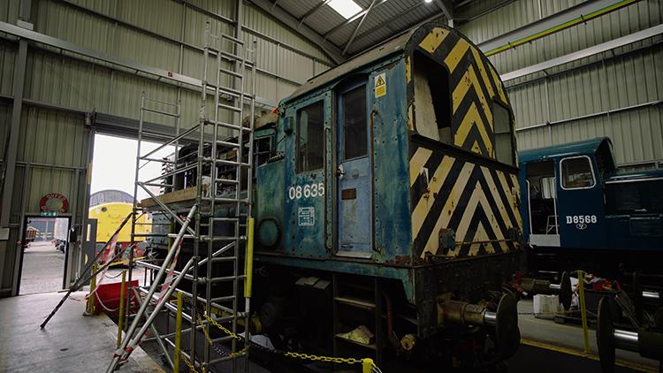 Severn Valley Railway Hydroshunter