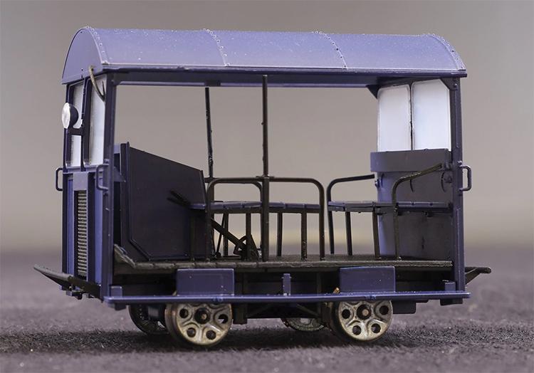 O gauge Wickham Trolley Ellis Clarke