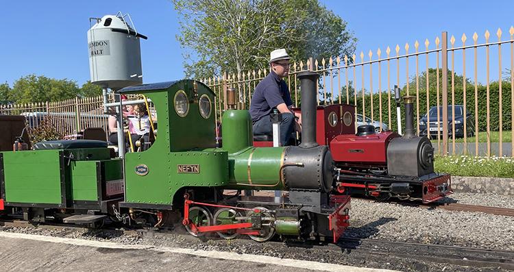 Wythall museum miniature railway