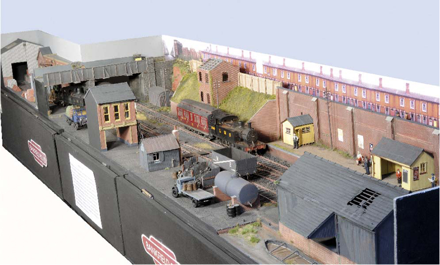 Bankfield Road layout LMS Jinty
