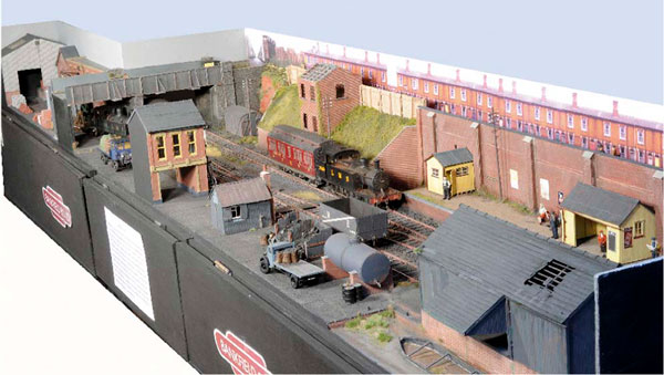 Bankfield Road in O gauge