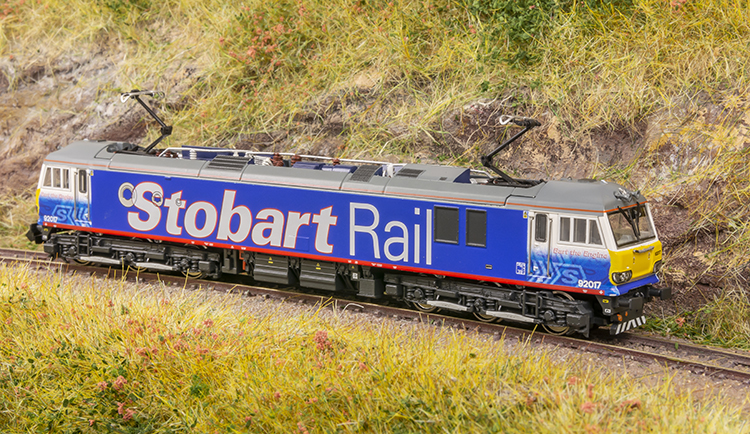 Class 92017 bart the engine kernow model rail centre revolution trains