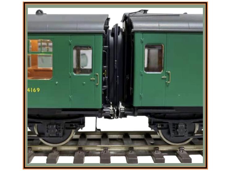 Lionheart Trains Mk. 1 coach coupling