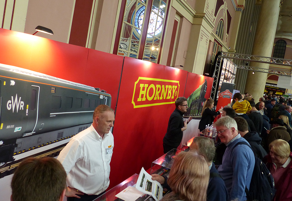Hornby stand London Festival of Railway Modelling
