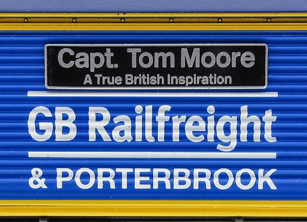Hornby captain Tom Moore