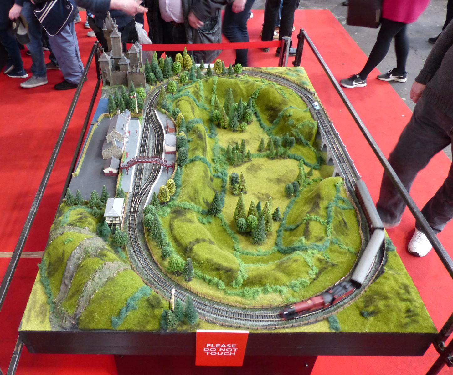 Hornby stand model railway