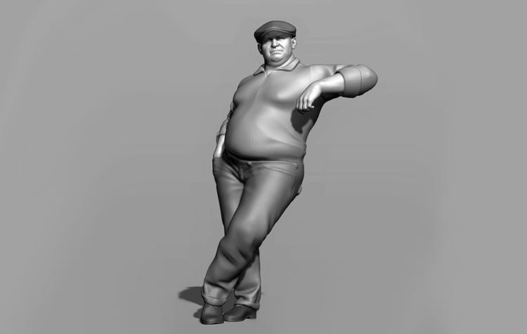 Finescale model figures