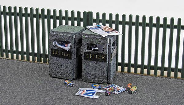 Modelling street litter