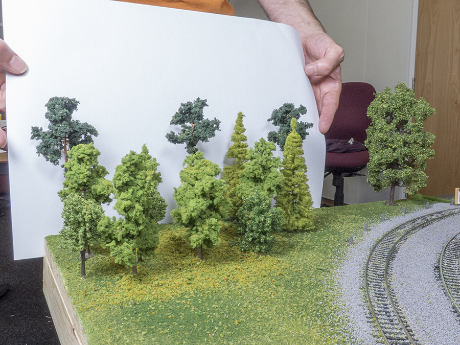 How to add trees to your model railway layout modelling a woodland
