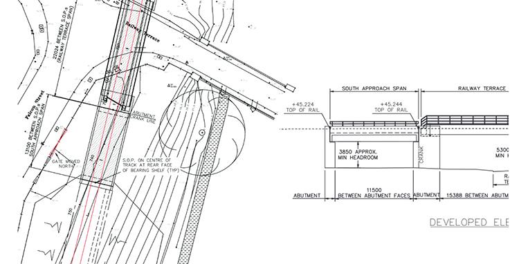 GCR extension bridge plan