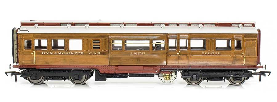 side view Rails Dynamometer Car