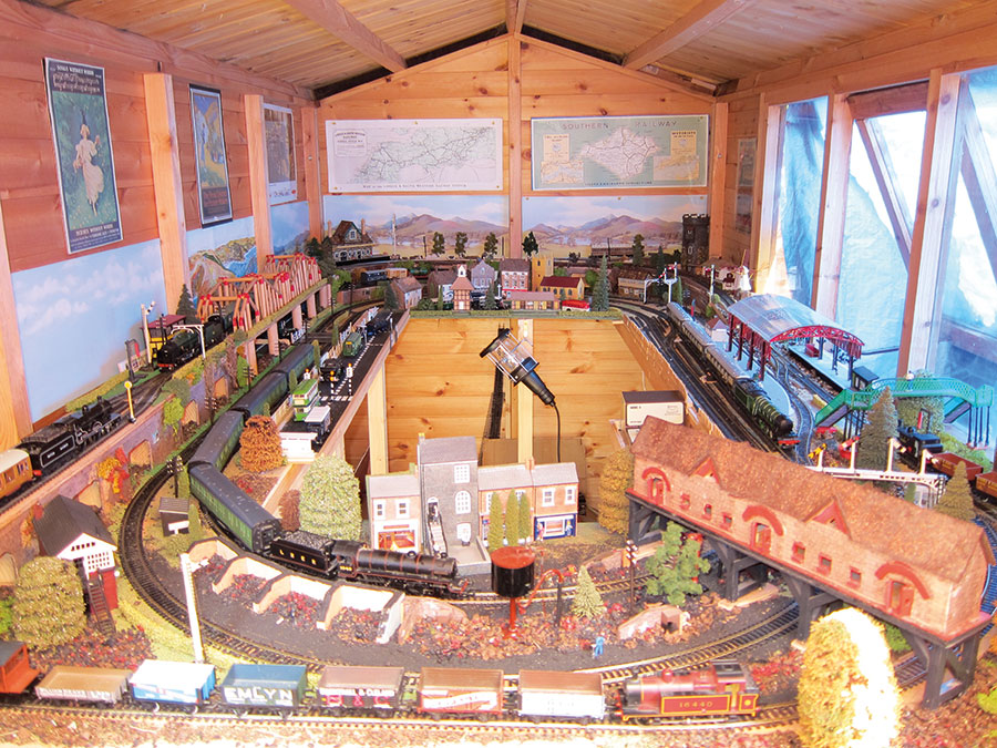 Where to store your model railway
