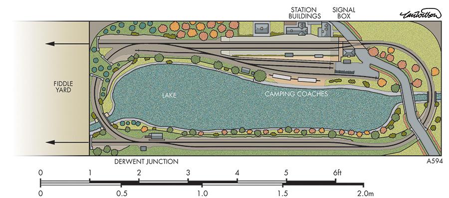 Bassenthwaite Lake trackplan