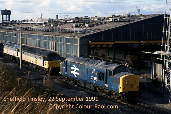 Sheffield Tinsley, 22 September, 1991.