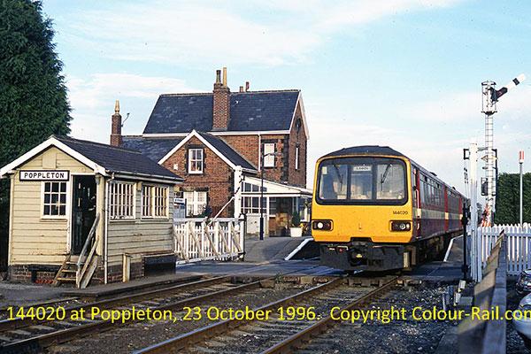 144020 at Poppleton, 23 October, 1996.