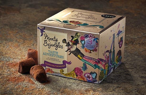 Free Gift: Free Monty Bojangles chocolate truffles