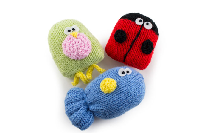 Knitted Cat Toys