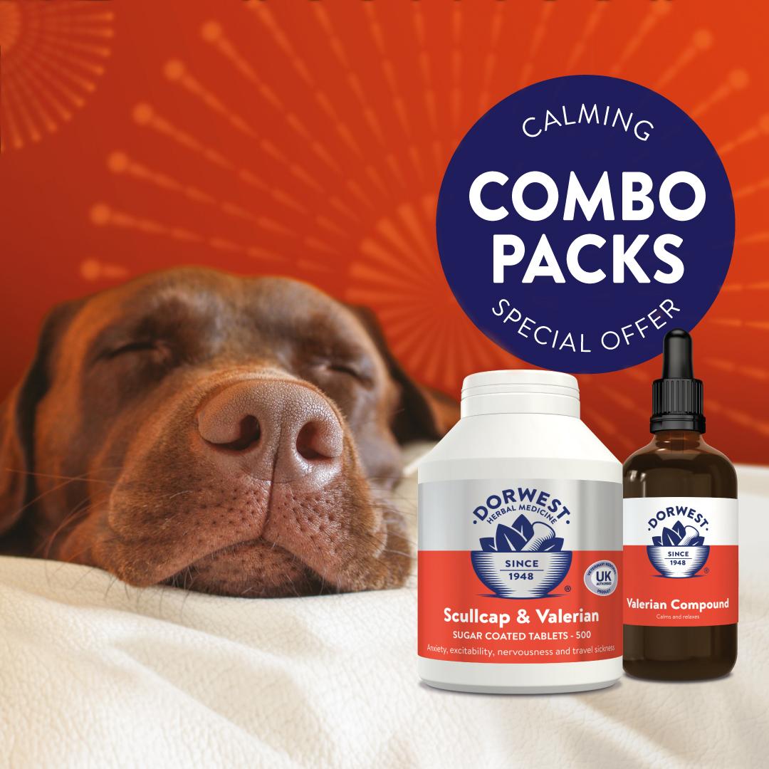 Dorwest Herbs Calming Combo Packs