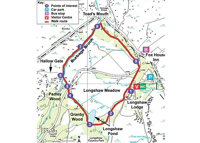 Longshaw Estate walk